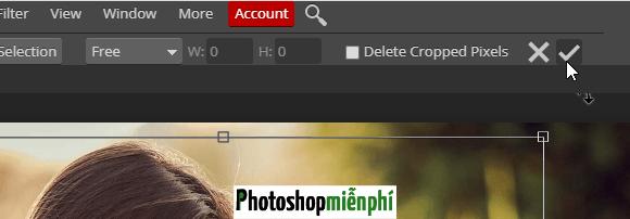 Hướng dẫn sử dụng Photoshop online cơ bản
